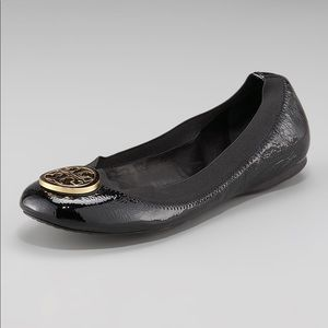 TORY BURCH | Caroline Patent Leather Ballet Flats
